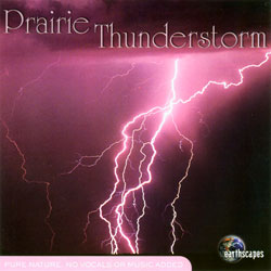 Earthscapes: Prairie Thunderstorm CD