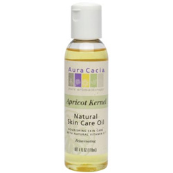 Aura Cacia Apricot Kernel Natural Skin Care Oil, 4 oz