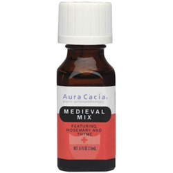 Aura Cacia Medieval Mix Essential Oil Blend, 0.5 oz