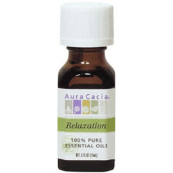 Aura Cacia Relaxation Essential Oil Blend, 0.5 oz
