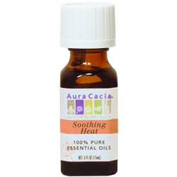 Aura Cacia Soothing Heat Essential Oil Blend, 0.5 oz
