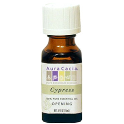 Aura Cacia Cypress Essential Oil, 0.5 oz