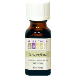 Aura Cacia Grapefruit Essential Oil, 0.5 oz