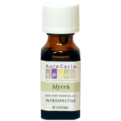 Aura Cacia Myrrh Essential Oil, 0.5 oz