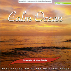 Sounds of the Earth: Calm Ocean CD