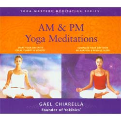 AM and PM Yoga Meditations 2 CD Set