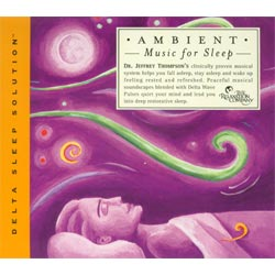 Ambient Music for Sleep CD