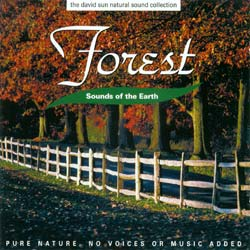 Sounds of the Earth: Forest CD