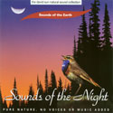 Sounds of the Earth: Sounds of the Night CD