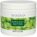 Aura Cacia Shea Nut Butter with Calming Lavender, 4 oz
