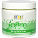 Aura Cacia Ginger & Mint Aromatherapy Foam Bath, 14 oz